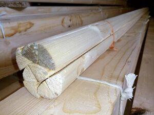 فتیله چوب کاج روسی , چهار تراش چوب کاج