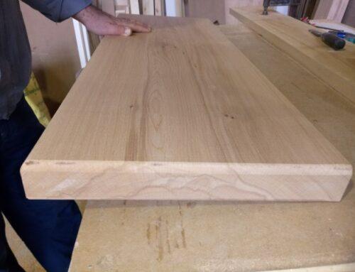 کف پله چوب راش , تولید انواع کف پله تمام چوب