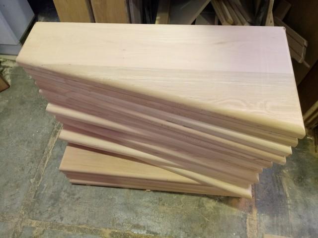 کف پله چوب راش