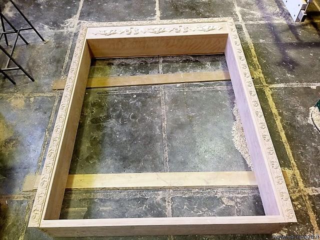 ساخت چهارچوب چوب راش , چهار چوب سبک کلاسیک