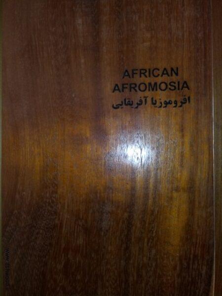 چوب افروموزیا آفریقایی , انواع چوب