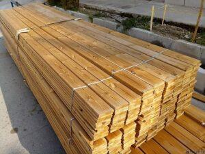 چوب ترمووود, قیمت چوب ترموود نما