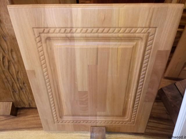 درب کابینت آشپزخانه ساخته شده از پانل های فینگر جوینت