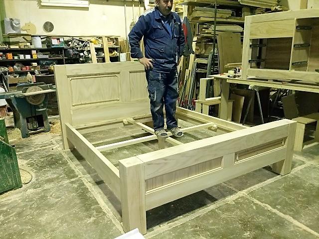 ساخت سرویس خواب چوب بلوط