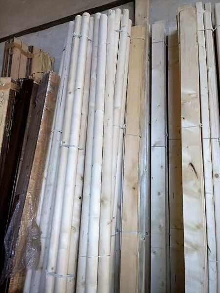 دوبل و چوب گرد از جنس کاج روسی