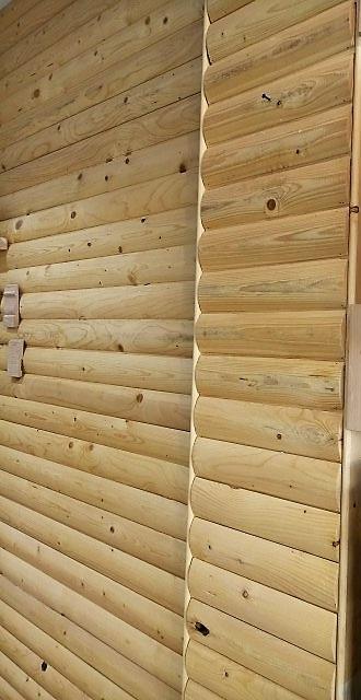 زیرسازی و اسکلت اتاق سونا، ساخت دیوار چوبی