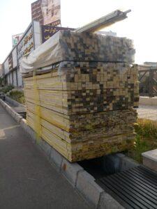 چوب کاج روسی در انواع ابعاد و ضخامت ها