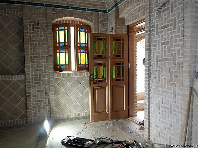 درب و پنجره سنتی گره چینی