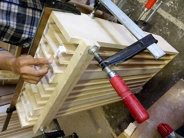 ساخت باکس چوبی