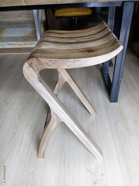 میز و صندلی چوب گردو , سبک مدرن