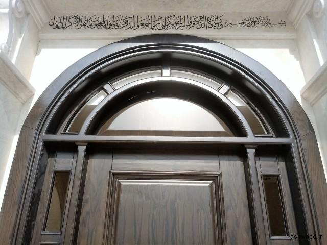 سازنده درب چوبی سفارشی , درب تمام چوب , درب های روکشی و ..