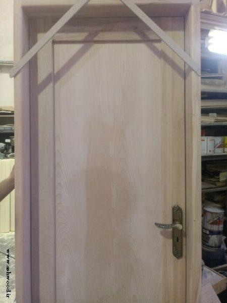 ساخت درب چوب راش