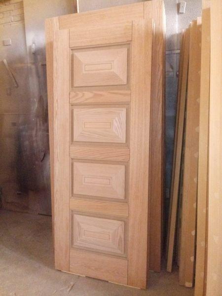 درب روکش چوب بلوط، درب اتاقی و ورودی