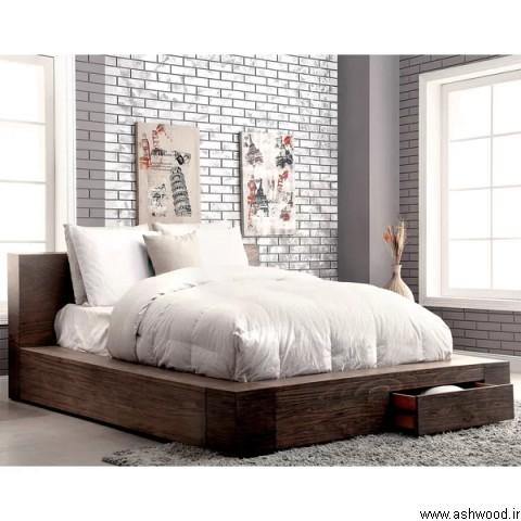 مدل تخت خواب چوبی , سرویس خواب لوکس 2019
