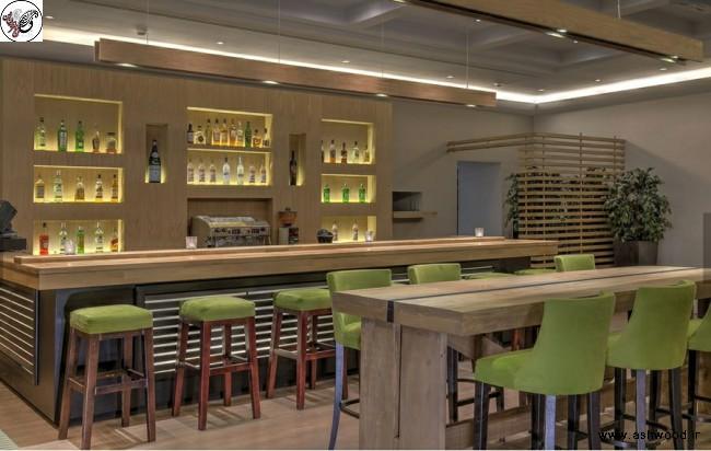 دکوراسیون رستوران از چوب بلوط , رستوران٬ طراحی دکوراسیون رستوران٬ میز و صندلی رستوران