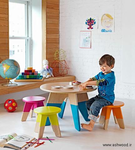 کتابخانه و دکوراسیون اتاق کودک