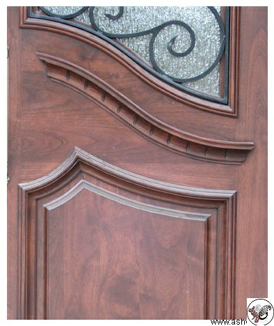 مدل درب ورودی چوبی ساختمانی و ویلایی , ساخت زیباترین مدل های درب ورودی برای ساختمان شیک و مدرن و کلاسیک