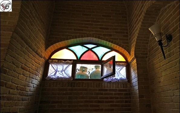 ارسی و گره چینی خانه لطفعليان ملایر يادگاري از دوران قاجار