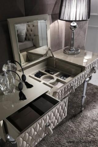 میز آرایش , قیمت میز آرایش , ساخت میز چوبی اتاق خواب