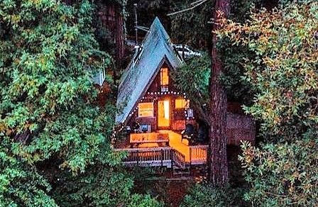کلبه چوبی کوچک, هک دکوراسیون و طراحی خانه کوچک چوبی