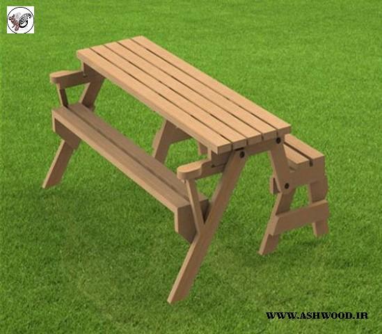 میز تاشو دیواری نیمکت تاشو دیواری صندلی تاشو , نیمکت چوبی٬ نیمکت چوبی تاشو