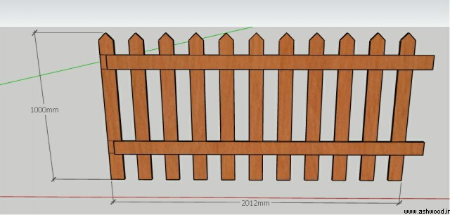 حصار چوبی استخر