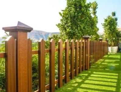 استفاده از چوب برای ایجاد حصار