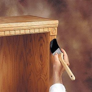 جلوگیری از پوسیدگی چوب با رنگ و روغن