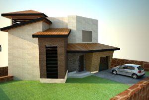 نمای ساختمان مشاء دماوند