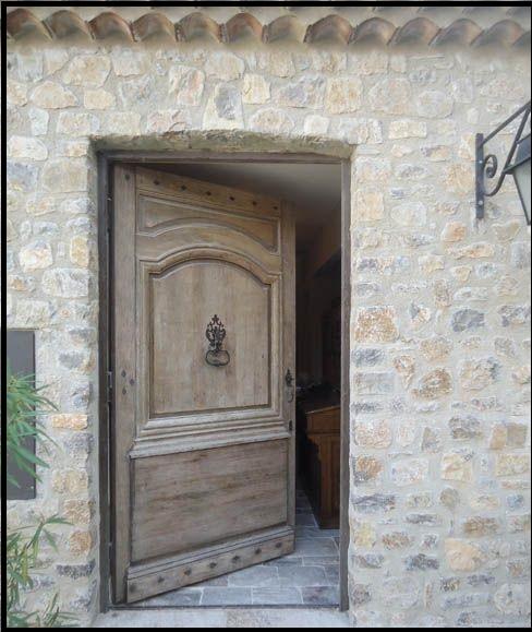 درب ورودی بلوط قدیمی