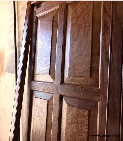 ساخت انواع درب تمام چوب سفارشی