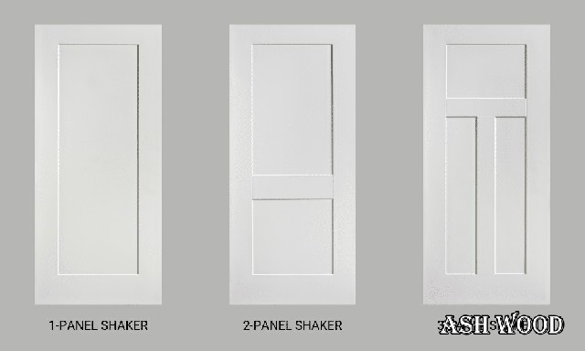 درب چوبی سبک شیکر