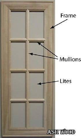زهوار یا جدا کننده دو بخش در یک درب
