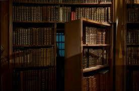 کتابخانه درب دار , درب مخفی