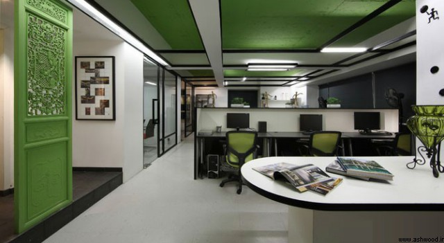رنگ در دکوراسیون داخلی , خواص و ویژگی های رنگ در دکوراسیون اداری و تجاری