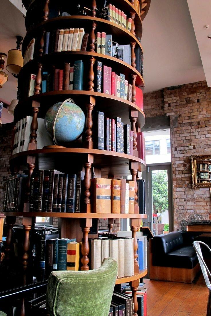 ایده های جالب چوبی برای دکوراسیون کتابخانه و اتاق