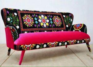 روکشهایی زیبا و رنگارنگ برای مبلها
