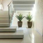 ایده های جالب پله در دکوراسیون لوکس داخلی , حوض آبنما در دکوراسیون داخلی