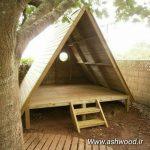 شله چوبی کلبه و خانه های چوبی , آلاچیق , کلبه چوبی