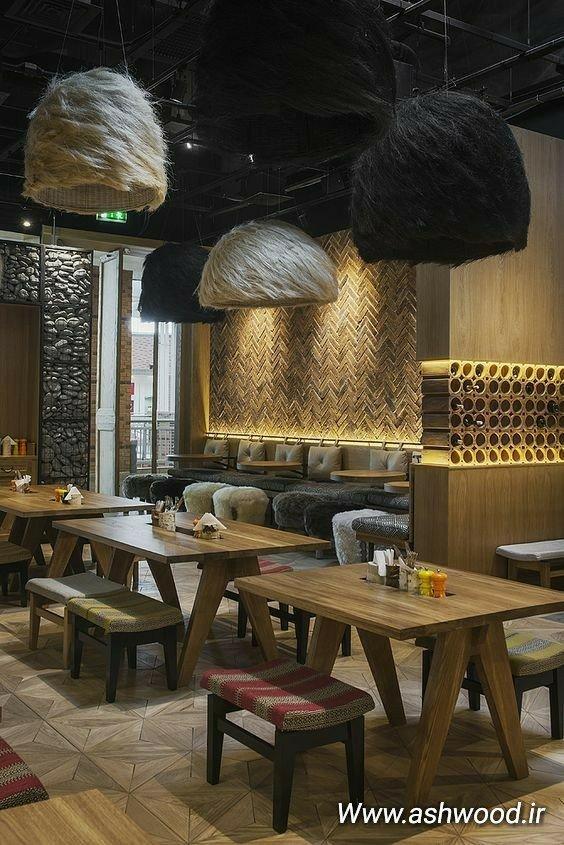 دکوراسیون داخلی کافه و رستوران