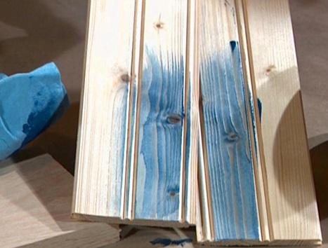 رنگ چوب , انواع رنگ چوب