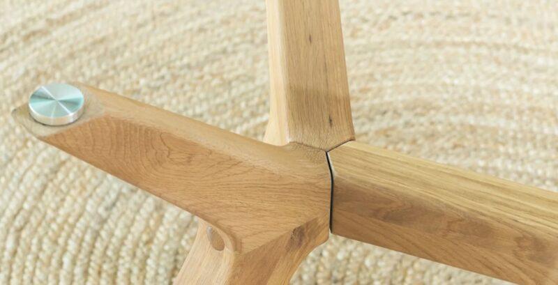 میز ناهارخوری 6 نفره چوب بلوط