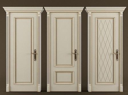ساخت انواع درب تمام چوب سبک کلاسیک