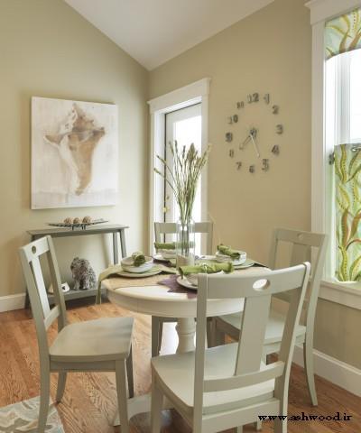 مدل و رنگ میز ناهارخوری چوبی