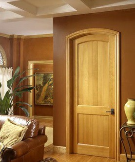 همه چیز درمورد درب های چوبی - درب های چوبی دو پنلی در دکوراسیون منزل