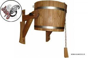 سطل چوبی - دوش برای آب 20 لیتر