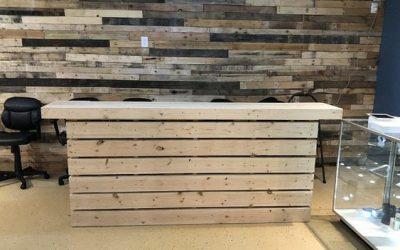 میز بار چوب کاج , میز بار ارزان قیمت طراحی و ساخت میز بار چوبی