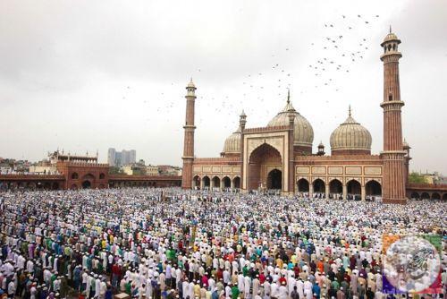نماز عید فطر در جهان