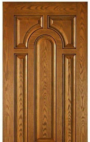 درب تمام چوب بلوط , ساخت درب چوبی , درب ورودی
