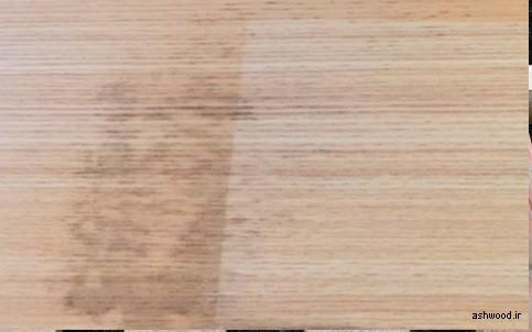 تغییر رنگ در چوب